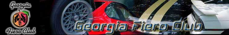 Georgia Fiero Club Forum